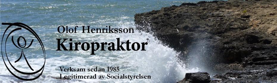 Kiropraktor Henriksson